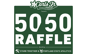 raffle portland timbers the portland and portland thorns fc host the 50 50 raffle supported by carl s jr at all home games tickets are in cash and credit card by