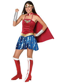 Costumes wonder woman costumes teen