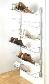 wall shoe organizer wall shoes rack