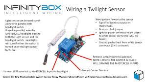 automatic headlights \u2022 infinitybox outdoor light sensor wiring diagram Light Sensor Wiring Diagram #35