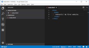 Teil 1: Unsere erste Webseite | HTML & CSS Tutorial (Deutsch) | code ...