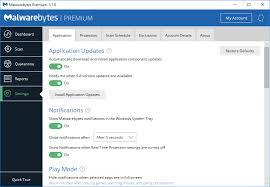 Malwarebytes for Windows Help - Settings