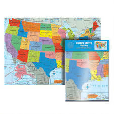 Large Us Map Poster Details About Us Untied States Usa Map Poster Size Wall Large Map
