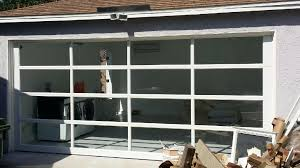 Clear Glass Garage Door Clear Glass Garage Door S Nongzico