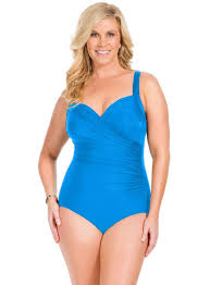 Miraclesuit Womens Plus Must Haves Sanibel Underwire One Piece Swimsuit