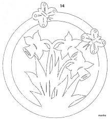 Kostenlose lieferung bei ihrer ersten bestellung mit versand durch amazon. Scherenschnitt Vorlage Blumen Narzissen Ostern Scherenschnitt Ostern Scherenschnitt Vorlagen Ostern Basteln Holz