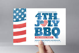 4th Of July Flyer Template In Psd Ai Vector Brandpacks