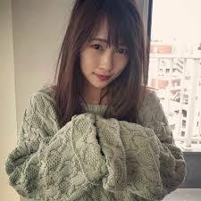 天使のようなかわいさ川栄李奈さんのヘアスタイル ヘアスタイル頭