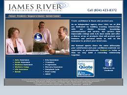 james river insurance agency website history