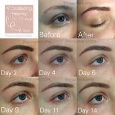 eyebrow microblading blonde hair. first 14 days of the healing process after microblading are always hardest! your brows eyebrow blonde hair