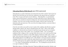 writing introductions for educating rita coursework help denny doin door drink e m forster educating rita essay exam feel forster frank getting report an issue help check out our top essays on