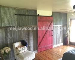 antique full z brace interior barn door for cabinet and sliding door system