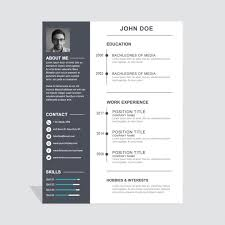 Free Downloadable Creative Resume Templates Creative Resume Template