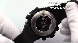 Обзор. <b>Мужские</b> наручные <b>часы Wainer WA</b>.10920-C - YouTube