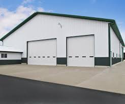 industrial garage door. Thermally Broken Steel Industrial Garage Doors (Polystyrene Insulation) Door
