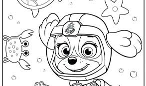 Paw Patrol Printable Coloring Pages Chase Super Spy Ryder And