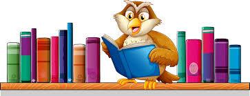Znalezione obrazy dla zapytania sowa i książki