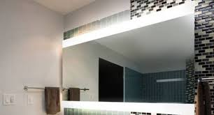 lighted wall mirror. bathroom lighting, old mobile illuminated lighted mirror design: marvelous design wall
