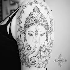 At Lunamothtattoo 𝔄𝔪𝔟𝔢𝔯 Ganesha Tattoo