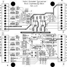 fanuc encoder converter connector pinout board layout