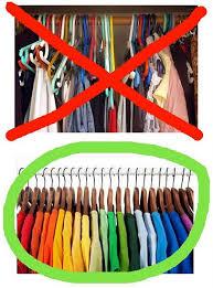 Resultado de imagem para guarda roupas organizado