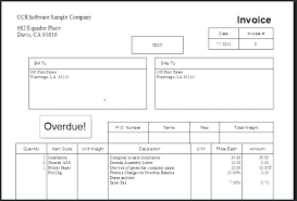 Past Due Bill Template Requesting Payment For Overdue