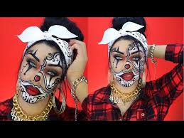 chola gangster clown makeup saubhaya makeup
