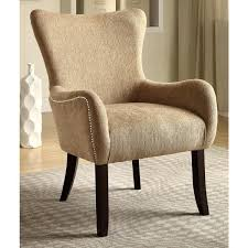 beige accent chair. Brilliant Beige Casual Beige Living Room Accent Chair With Nailhead Trim Inside