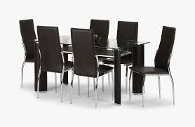 Glass Dining Table Set 4 Chairs White Wood And Glass Dining Table White Dining Chairs And Dark