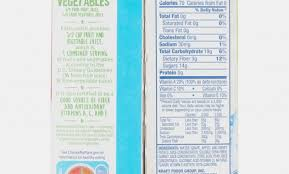 capri sun super v apple fruit capri sun roarin waters nutrition label