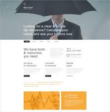 insurance muse website template 44