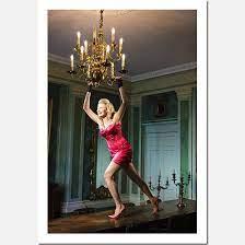 chandelier swinging damien lovegrove
