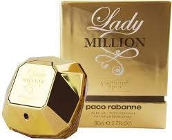 lady million absolutely gold by paco rabanne for women eau de parfum 80ml