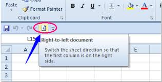 How To Change The Direction Of Worksheet