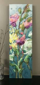vansickleart com abstract flowerswatercolor