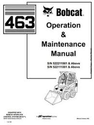 bobcat s250 turbo s300 turbo skid steer loaders parts manual pdf bobcat skid steer loader type 463 s70 s n 522111001 above operating and maintenance manual circuit diagramhigh