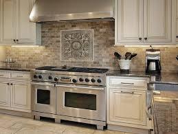 Custom Cut Stone Backsplash in Bethesda MD eclectic-kitchen