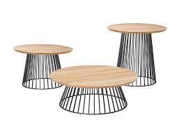 grid teak coffee table grid