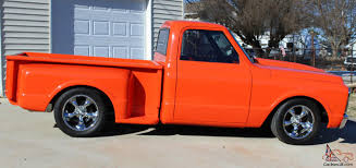 Chevrolet Hugger Orange Custom C10 Pickup