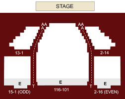 Stage 42 Seating Chart Stage 42 New York Ny Seating Chart Stage New York