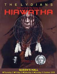 about hiawatha the lydians trinidad and tobago the lydians present scenes from the song of hiawatha