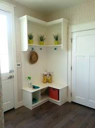 furniture for small entryway. Entryway Shelf With Hooks White Small Flooring Ideas Furniture Wood Corner Mudroom For U