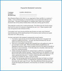 Free Construction Bid Proposal Template Download Free Construction Bid Proposal Template Download Amazing