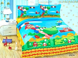 mario bed sheets bed sheets bed sheets find more bedding sets information about super kid boys mario bed sheets