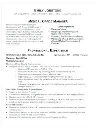 Resume Template For College Stunning Sample Resume For Administrative Assistant Office Manager Click Here