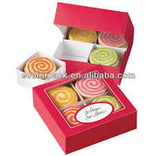4 sets divided cookie packaging box wholesale boxes e83