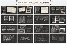 retro photo album powerpoint photo album template skywrite me