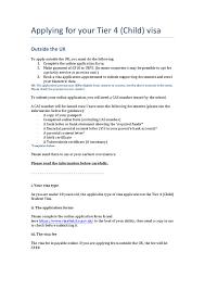 Visa Guidance Applying Outside The Uk Child By Fabio Carpene Issuu