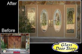 glass french doors front door installation