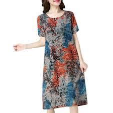 2020 хлопковое льняное <b>летнее платье</b> для женщин, <b>свободное</b> ...